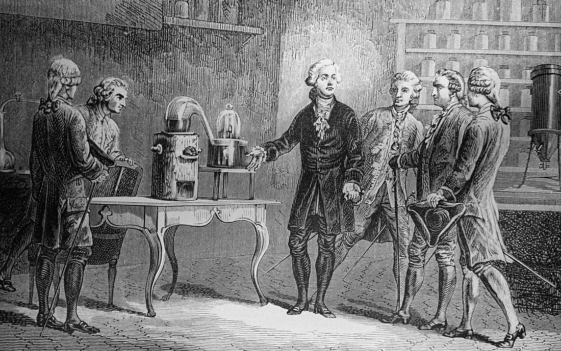 Criatividade e Conhecimento - Lavoisier