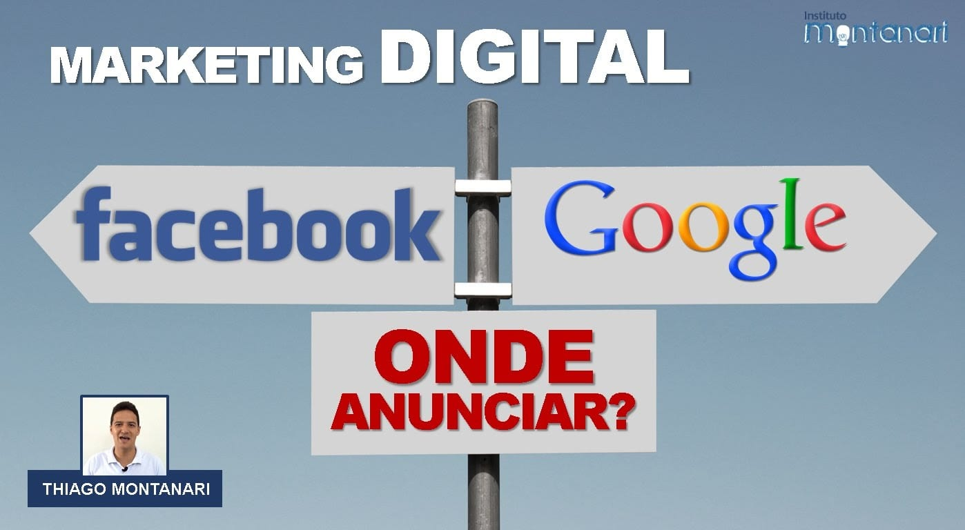 Marketing Digital: Facebook Ads ou Google Adwords?