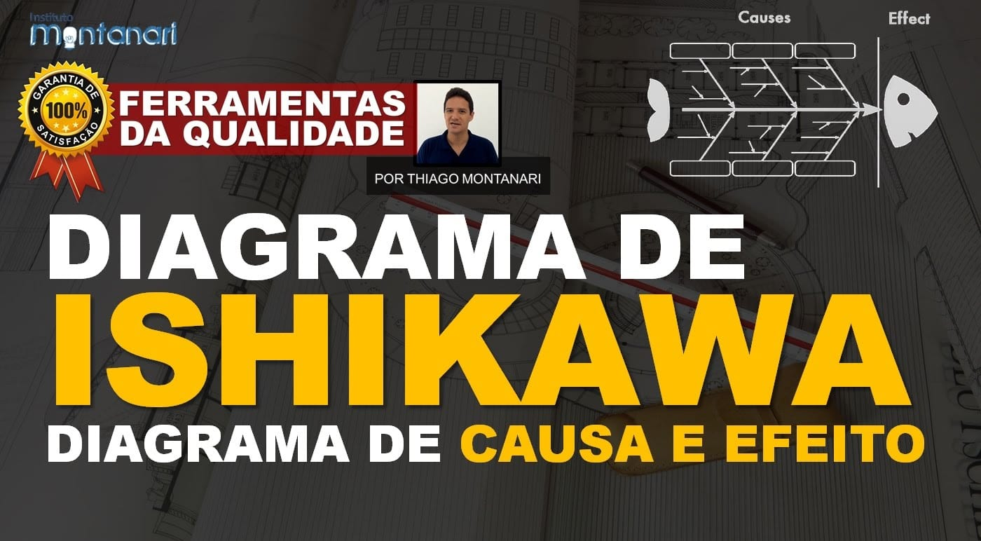 Diagrama de Ishikawa   Diagrama de causa e efeito – Ferramentas da Qualidade Total