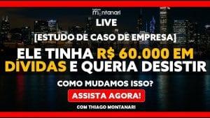 [CASO ROGER] Ele tinha R$ 60.000 EM DÍVIDAS e queria DESISTIR da empresa. Tudo mudou em 5 MESES!