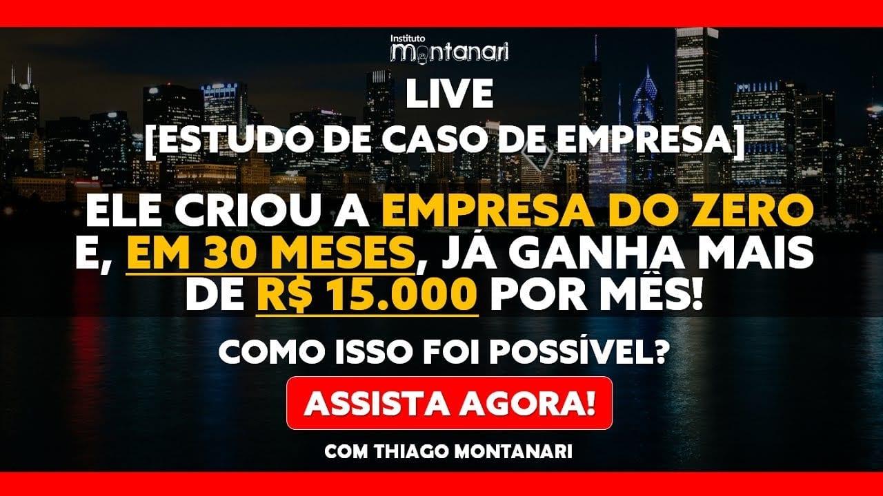 [CASO PATRICK] Ele criou a sua EMPRESA DO ZERO e, em 30 meses, GANHA mais de R$ 15.000,00 por mês
