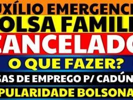 Bolsa Família Cancelado