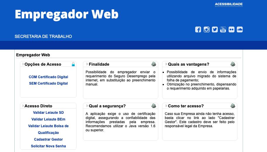 Seguro Desemprego Web Com Certificado Digital: Como Acessar