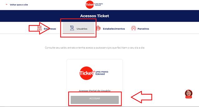 ticket saldo