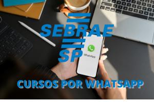 Cursos por WhatsApp: Confira a novidade criada pelo Sebrae