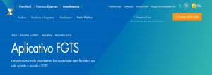 Liberado saque no App FGTS: veja como fazer