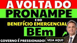 Governo é pressionado pela volta do BEM e do Pronampe
