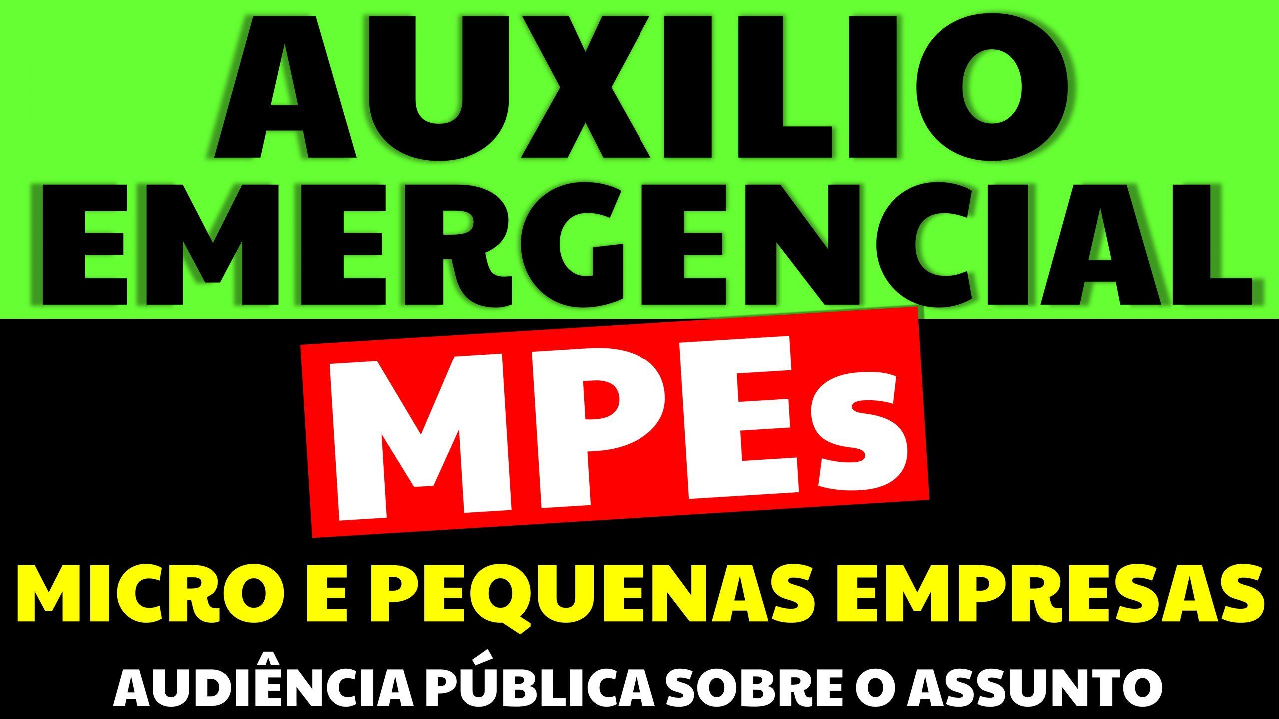 Auxílio emergencial para as MEIs, micro e pequenas empresas: Veja o que está em discussão