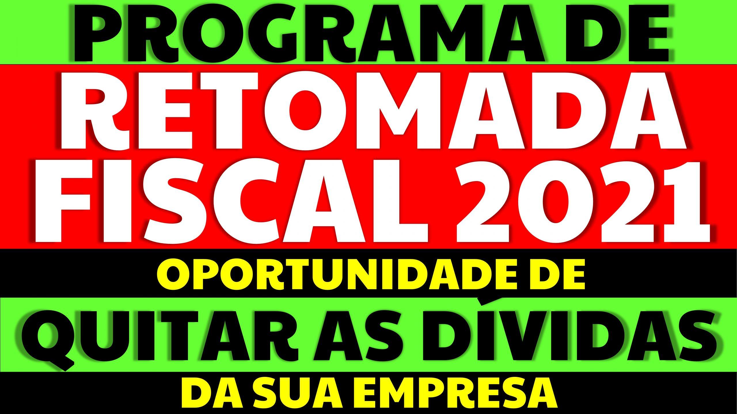 Programa de Retomada Fiscal