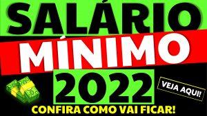 Salário Mínimo 2022: Terceiro ano sem aumento real