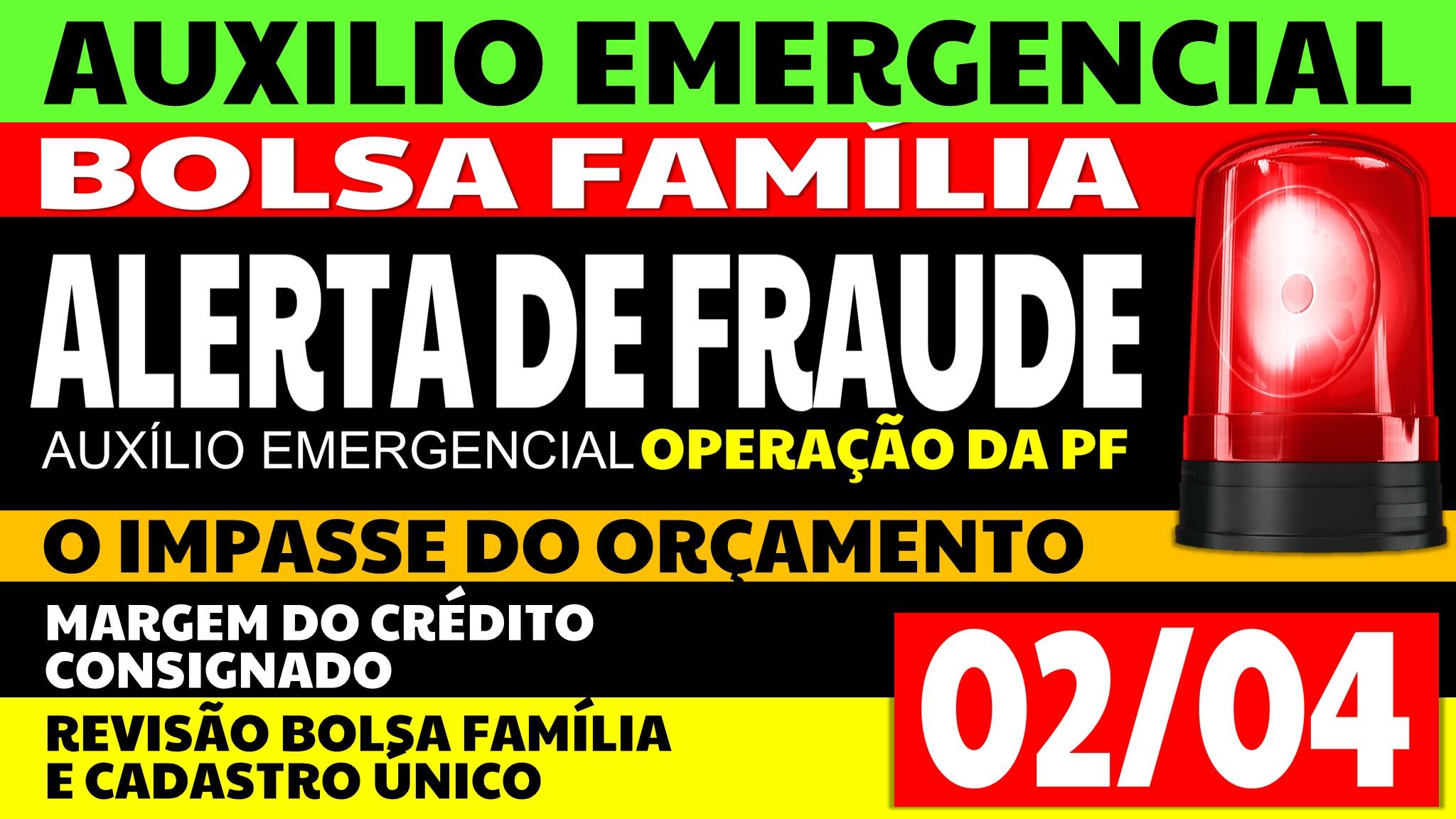 Auxílio Emergencial Hoje – 02/04
