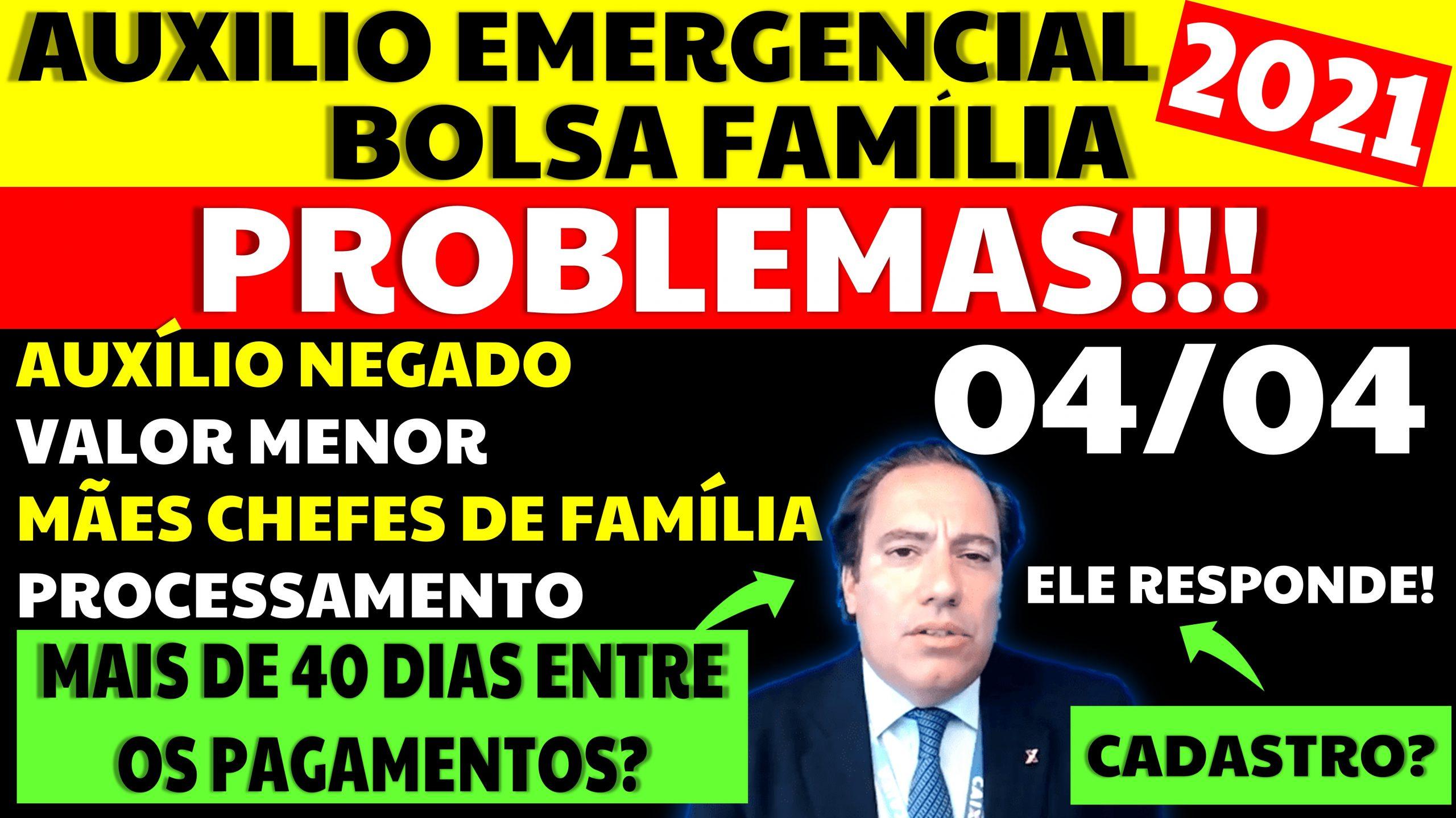 Auxílio Emergencial Hoje – 04/04