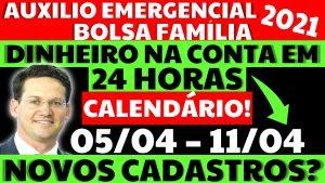 Auxílio Emergencial Hoje – 05/04