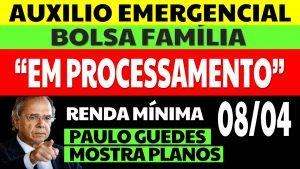 Auxílio Emergencial em Processamento