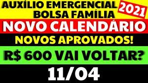 Auxílio Emergencial Hoje – 11/04