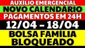 Auxílio Emergencial Hoje – 12/04