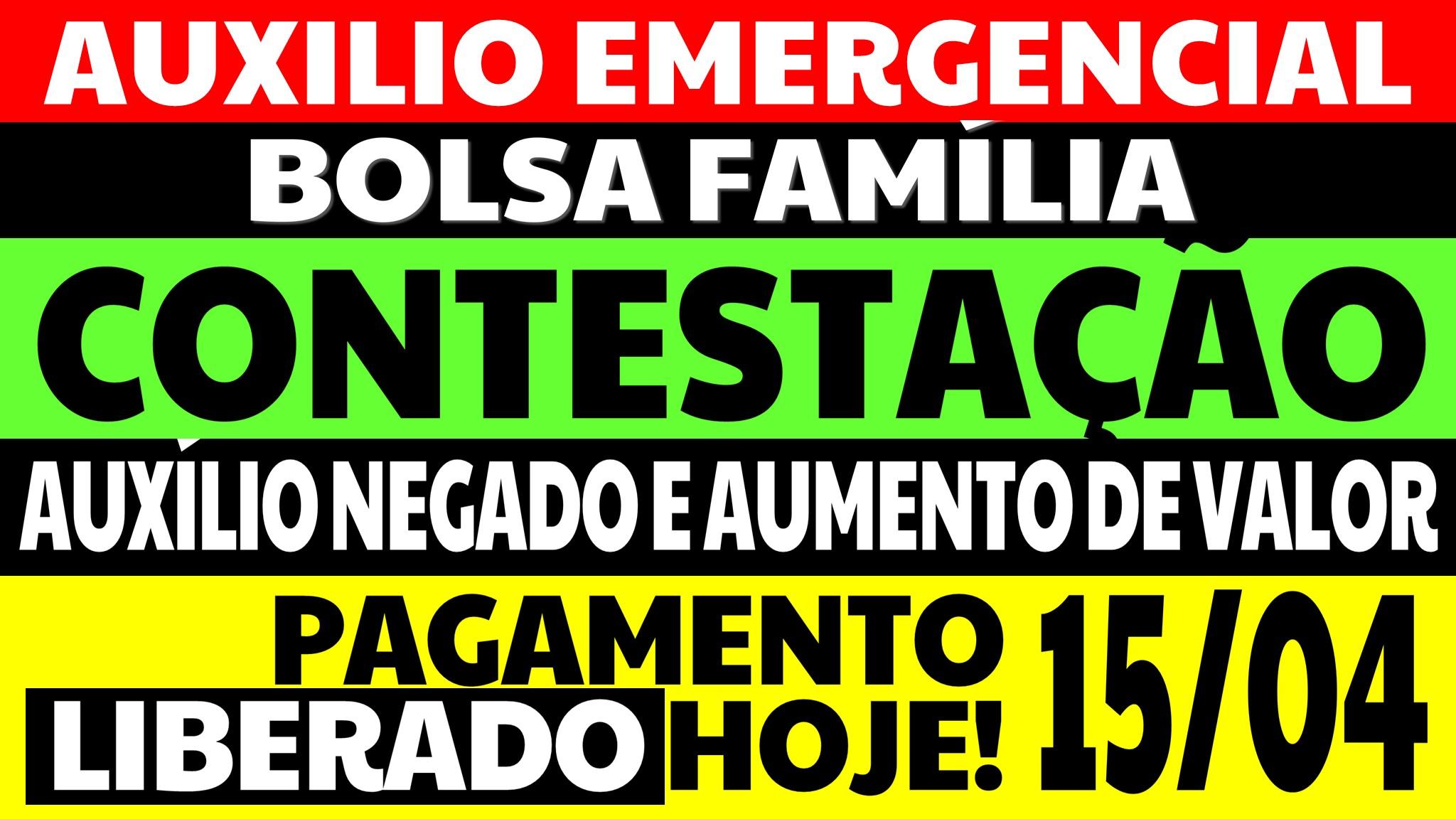 AUXÍLIO EMERGENCIAL HOJE BOLSA FAMÍLIA