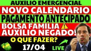 Auxílio Emergencial Hoje – 17/04