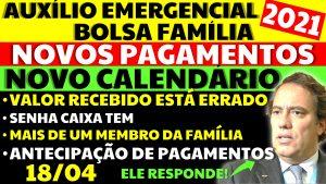 Auxílio Emergencial Hoje – 18/04