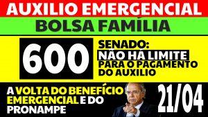 Auxílio Emergencial Hoje – 21/04