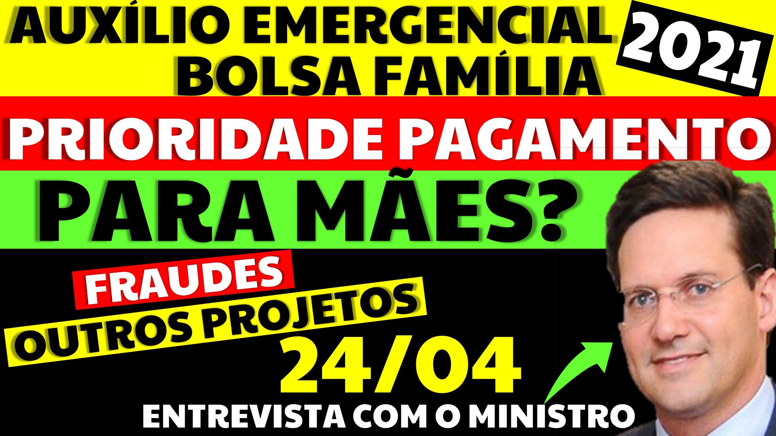 Auxílio Emergencial Hoje – 24/04