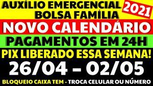 Auxílio Emergencial Hoje – 26/04