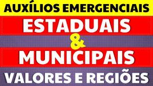Read more about the article Auxílios Emergenciais Estaduais: Conheça os valores e condições pagos pelos governos estaduais