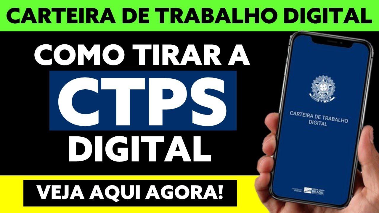 Como tirar a CTPS Digital: Passo a Passo e Tira-dúvidas