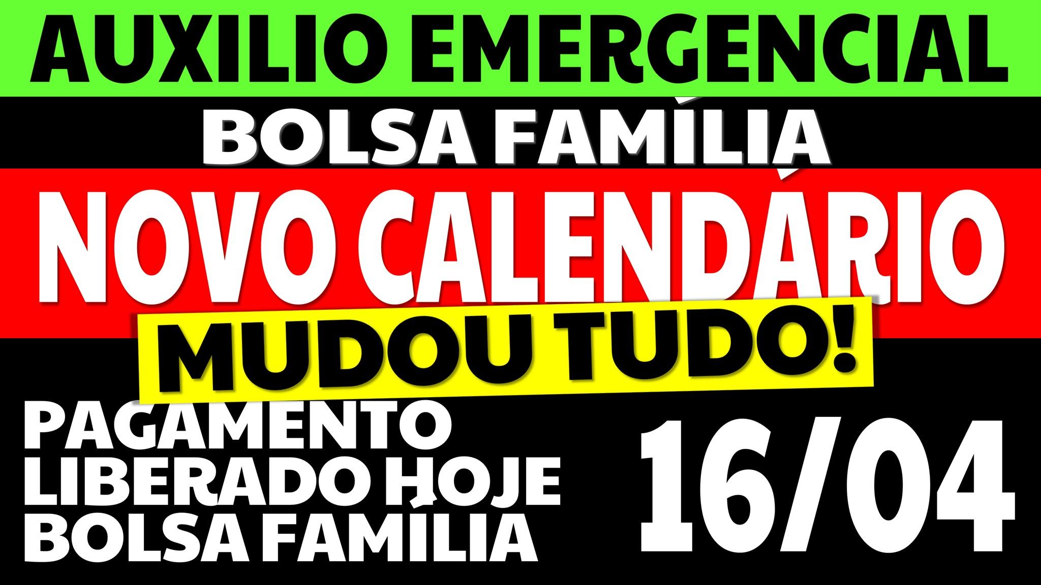 NOVO CALENDÁRIO AUXÍLIO EMERGENCIAL 2021 BOLSA FAMÍLIA 2021 AUXILIO EMERGENCIAL 2021 BOLSA FAMILIA 2021