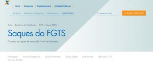 Passo a passo para adiantar saque aniversário do FGTS