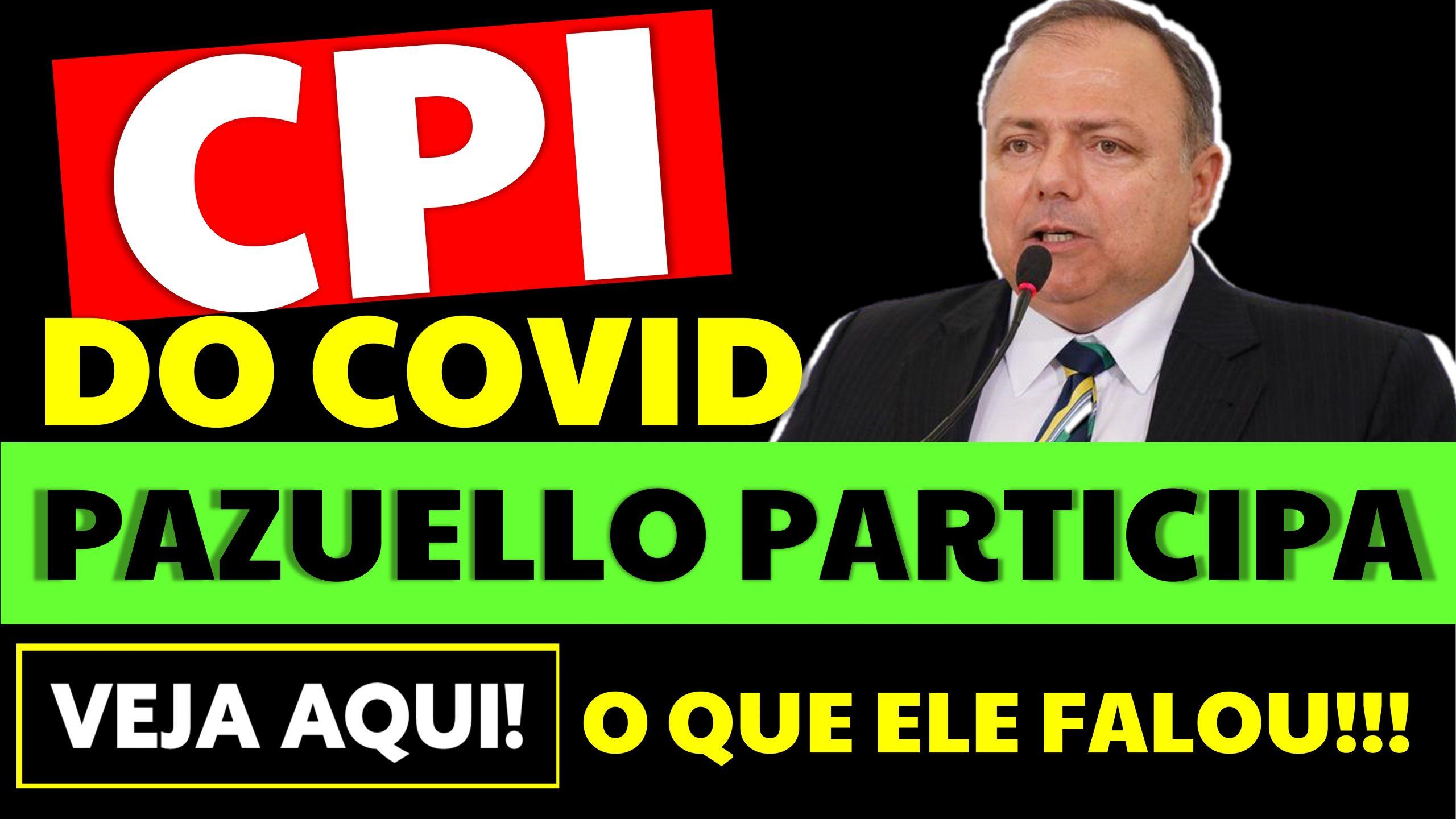 Eduardo Pazuello participa da CPI da Covid