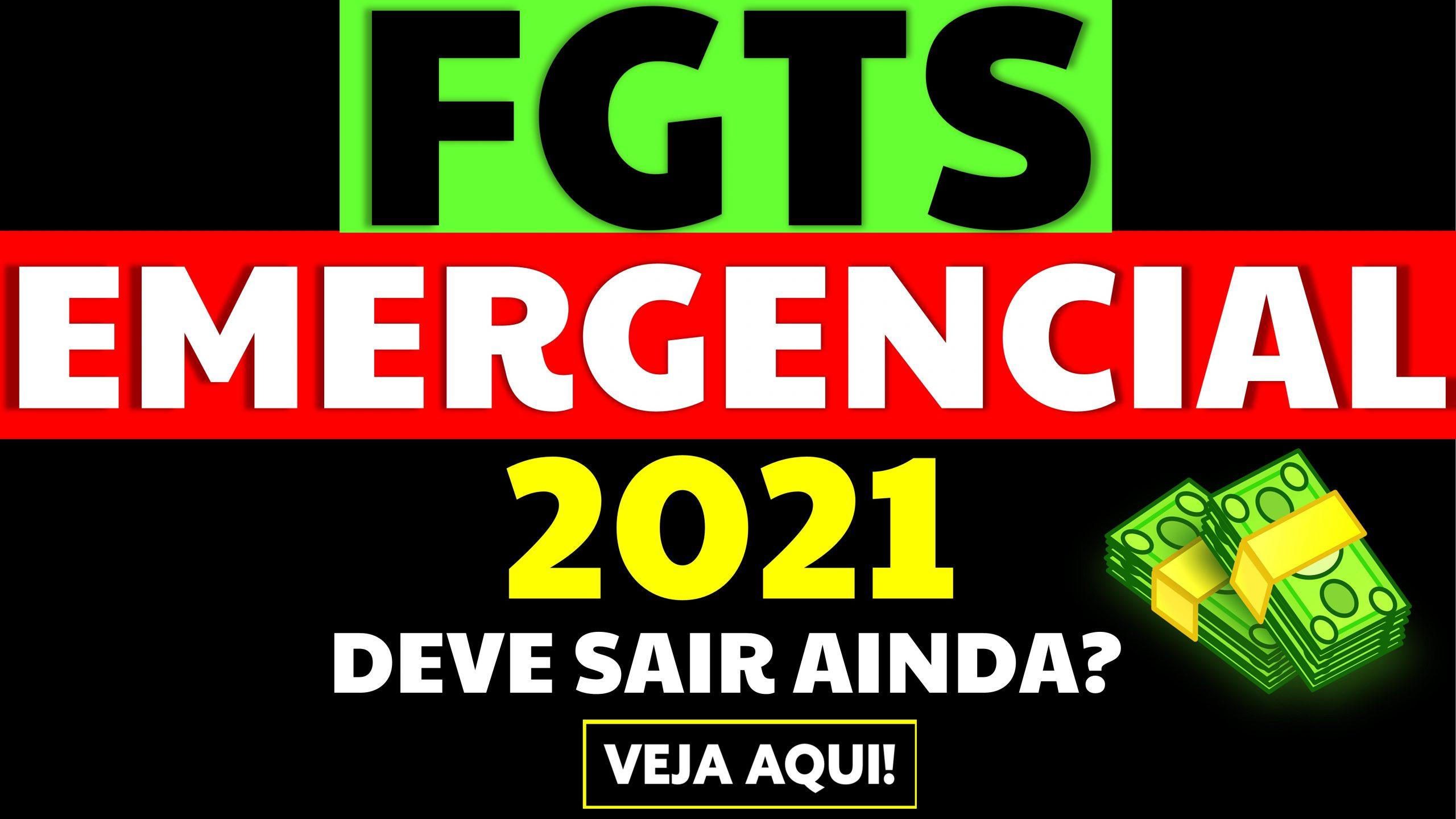 Haverá FGTS Emergencial em 2021?