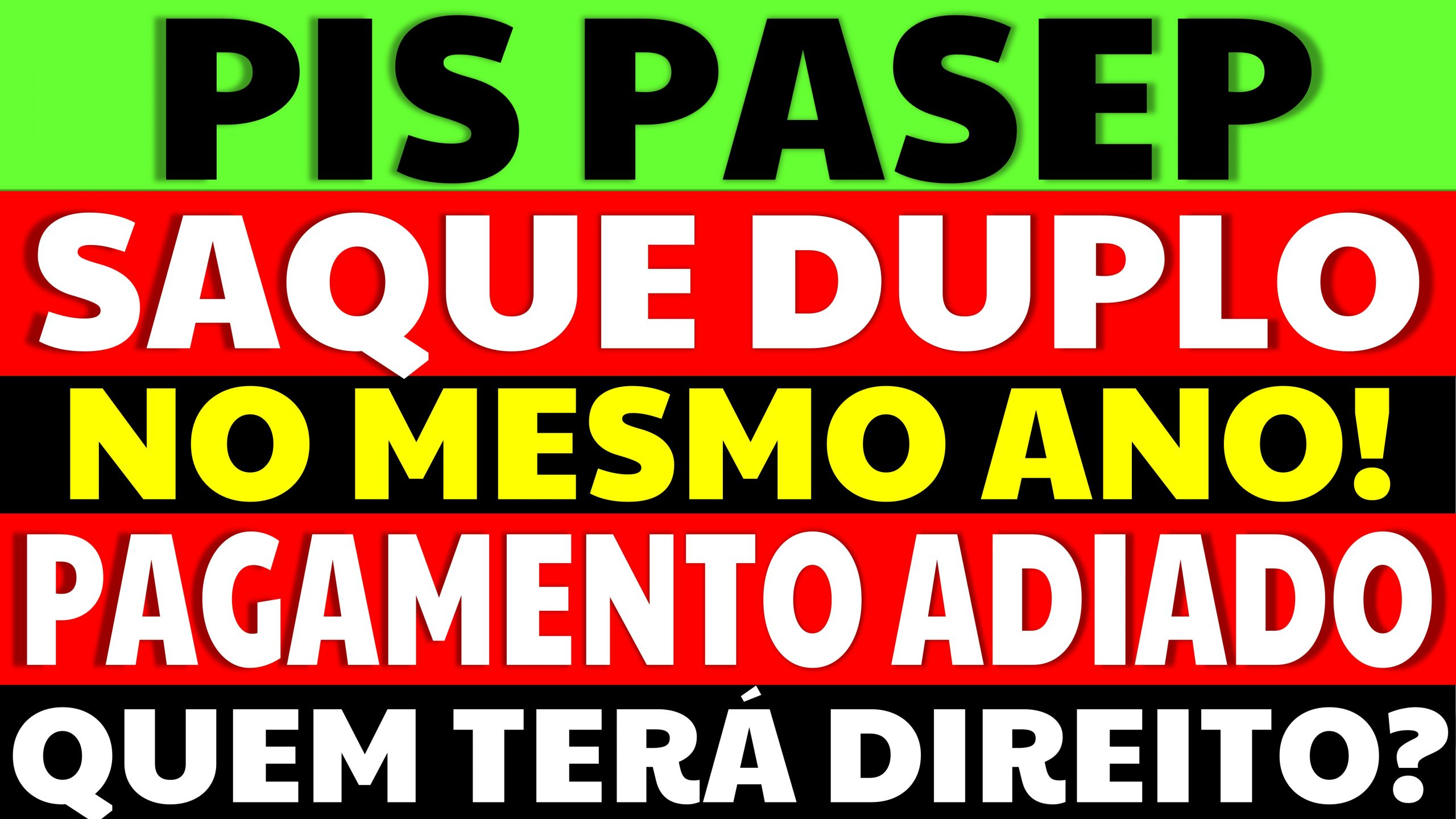 Read more about the article Dois saques do PIS PASEP no mesmo ano: Entenda quem terá direito