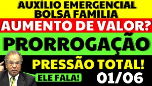 Read more about the article Auxílio Emergencial Hoje – 01/06