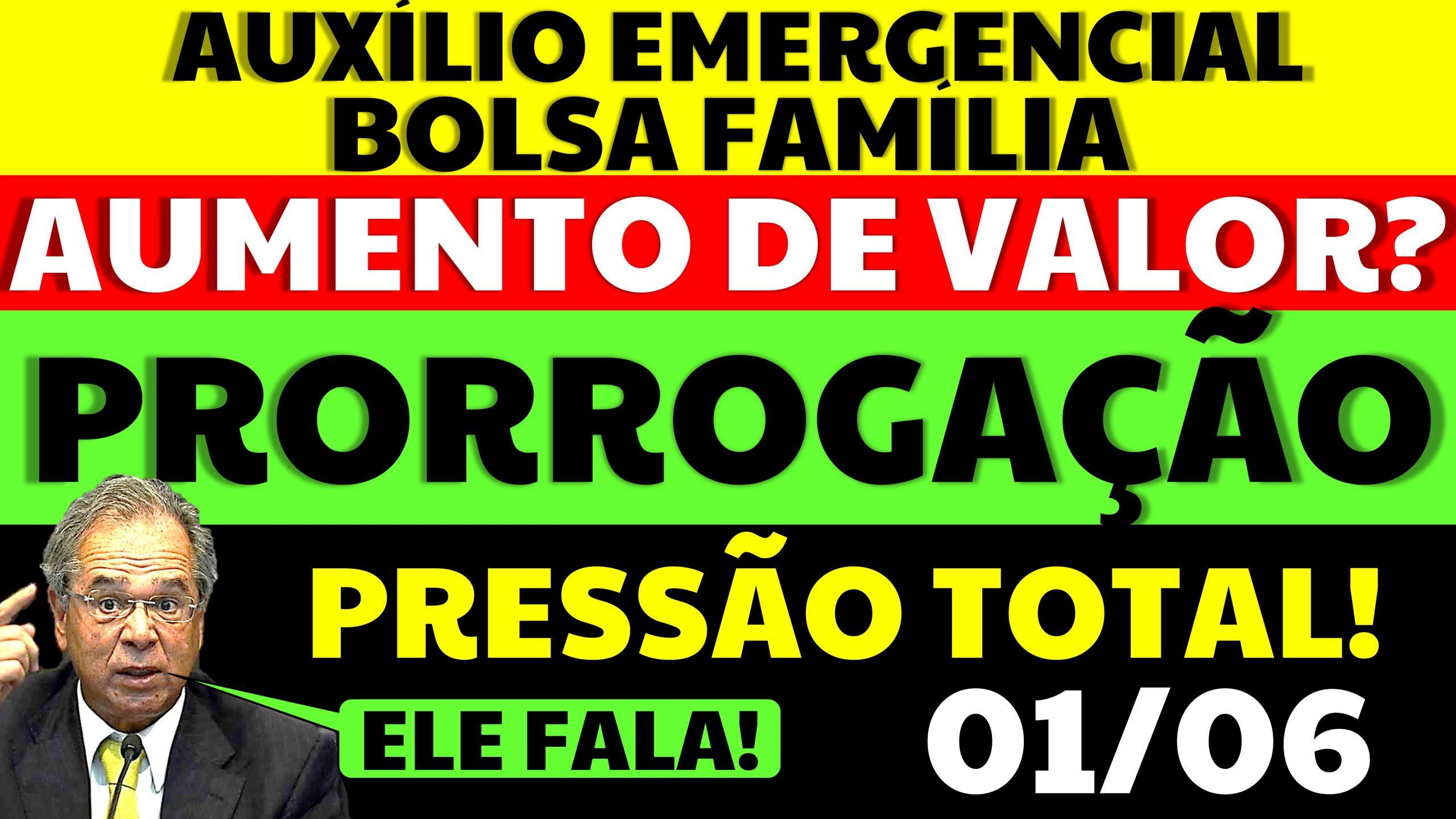 Auxílio Emergencial Hoje – 01/06
