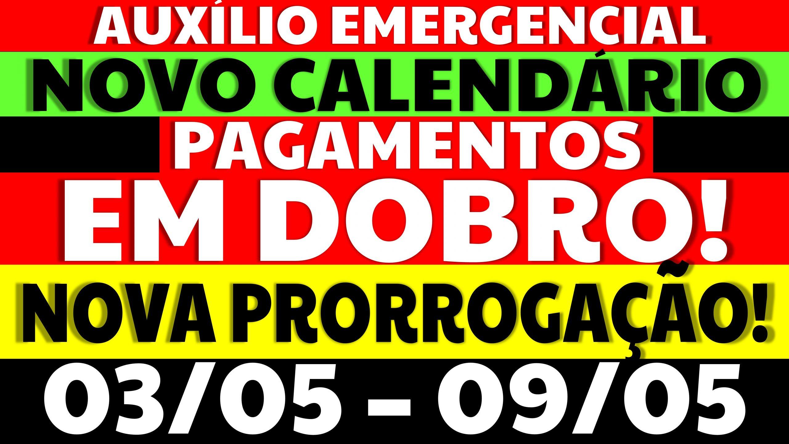 Auxílio Emergencial Hoje – 03/05