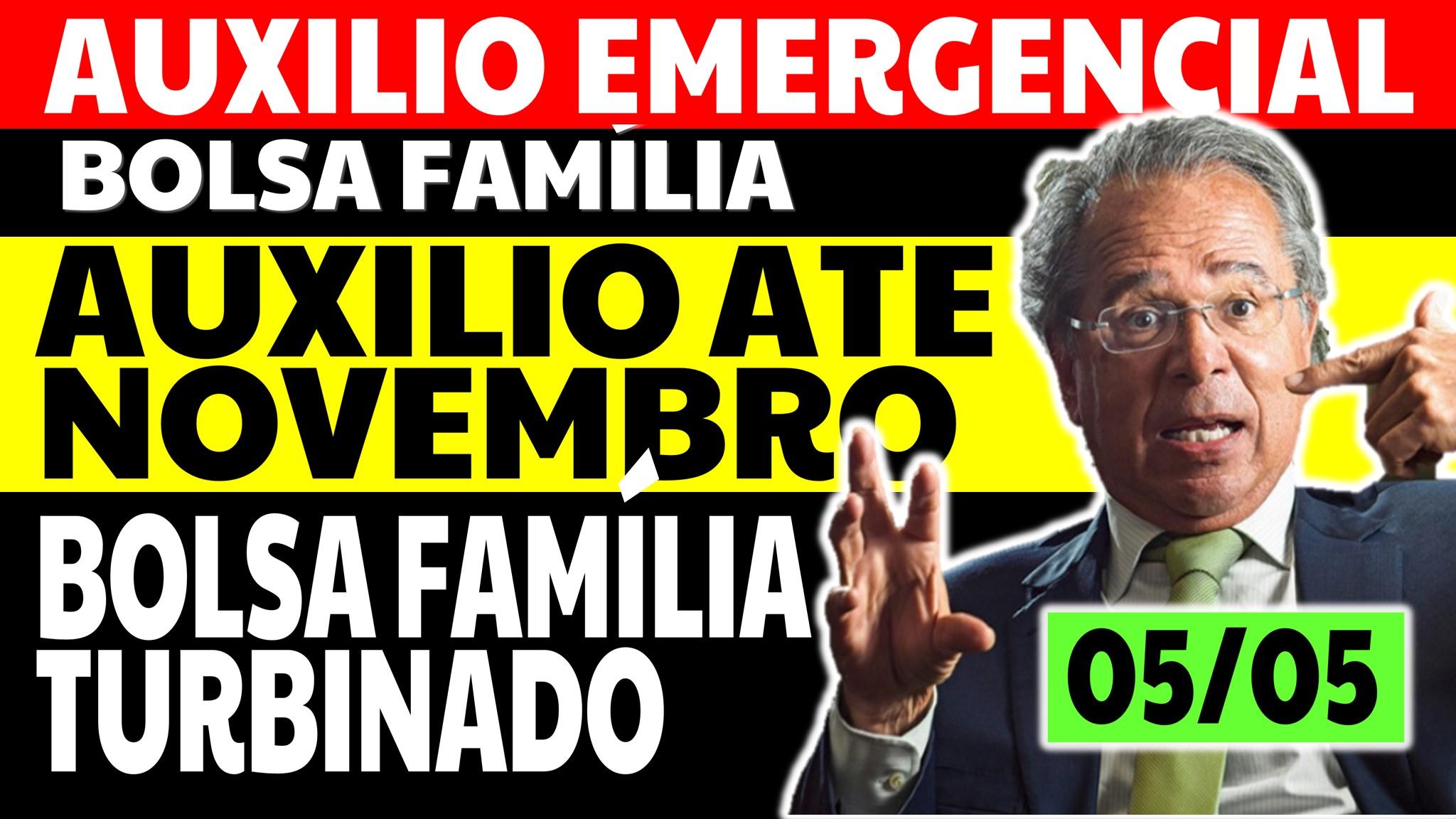 Auxílio Emergencial Hoje – 05/05