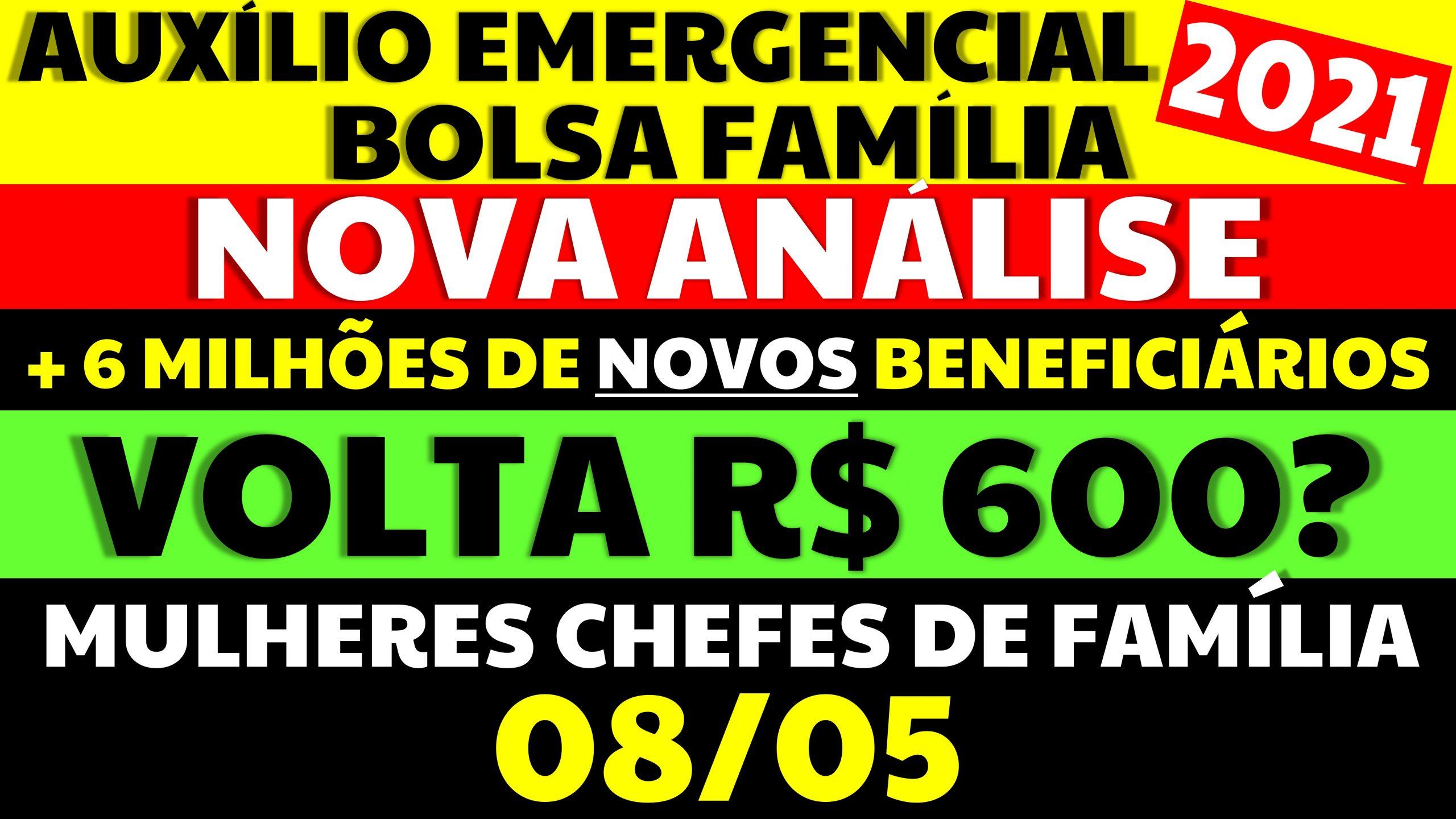 Auxílio Emergencial Hoje: NOVAS INFORMAÇÕES SOBRE AUXÍLIO R$600 NOVA ANÁLISE E MÃES CHEFES DE FAMÍLIA