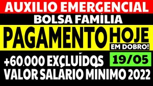 Read more about the article Auxílio Emergencial Hoje – 19/05