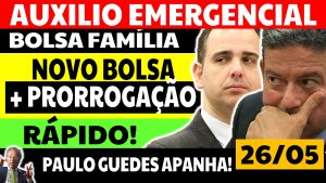 Read more about the article Auxílio Emergencial Hoje – 26/05