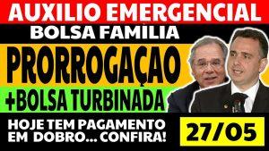 Read more about the article Auxílio Emergencial Hoje – 27/05