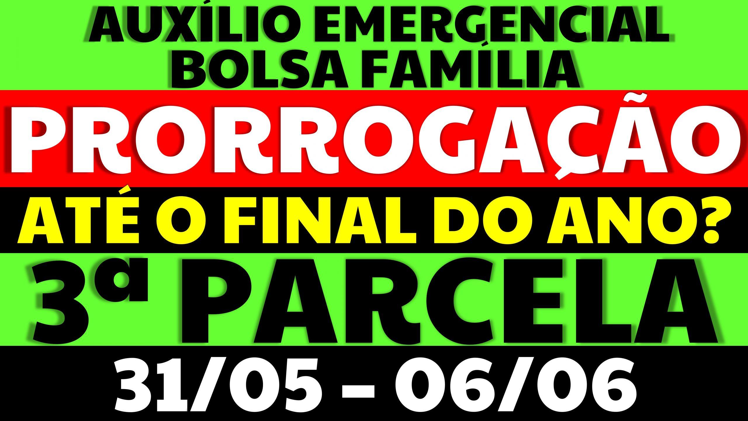 Auxílio Emergencial Hoje – 31/05