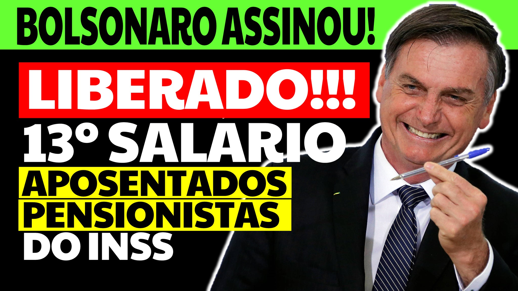 ANTECIPADO! 13 Salário de Aposentados e Pensionistas do INSS