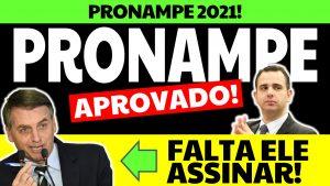 Read more about the article Pronampe 2021: aprovado no Senado! Só falta Bolsonaro assinar…