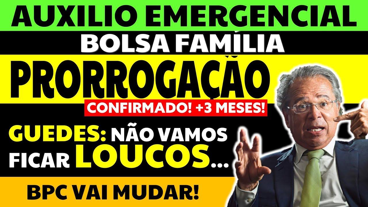 AUXÍLIO EMERGENCIAL HOJE