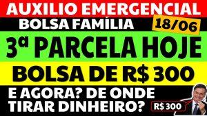 Read more about the article Auxílio Emergencial Hoje – 18/06