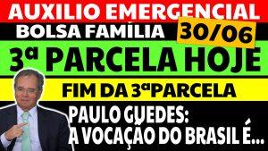 Read more about the article Auxílio Emergencial Hoje – 30/06