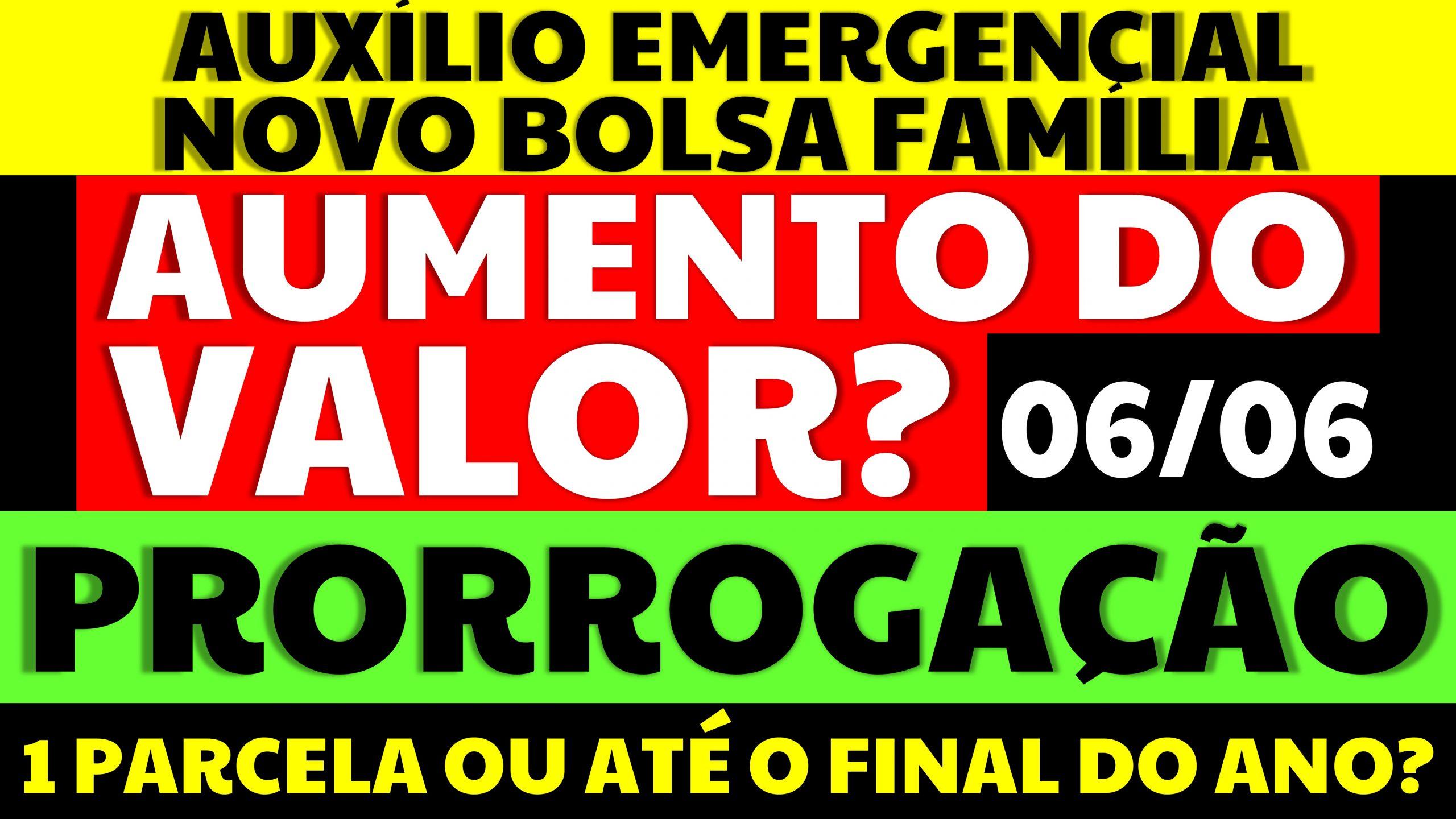 Auxílio Emergencial Hoje – 06/06