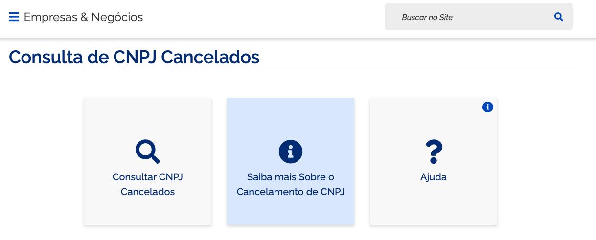 consulta mei cancelada