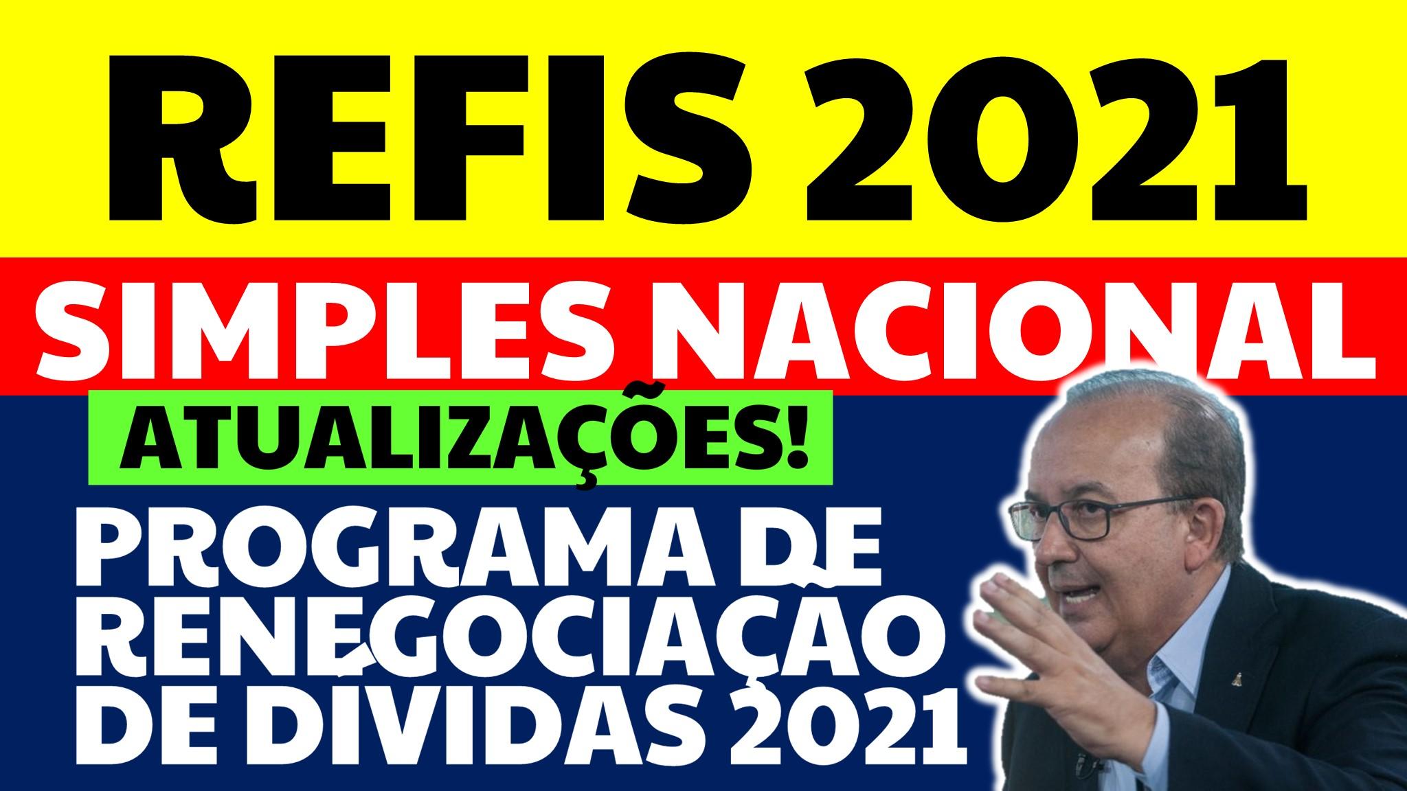 REFIS DO SIMPLES NACIONAL 2021
